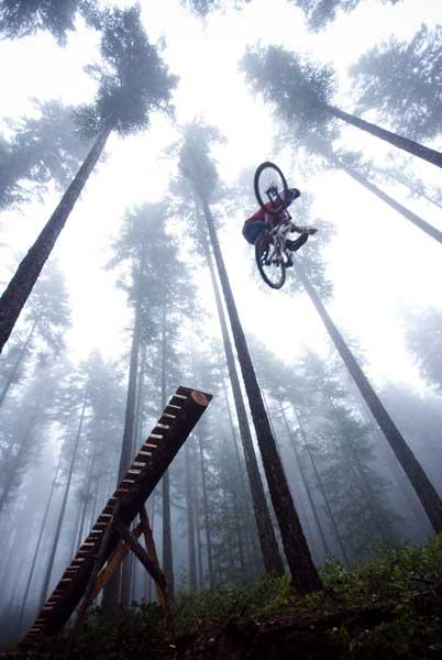 Visitors can watch bikers defy gravity at the Banff Mountain Film Festival UK tour