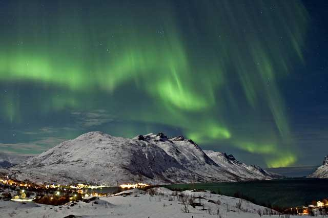 Sky's the limit: Visit Tromso in Norway to see the northern lights