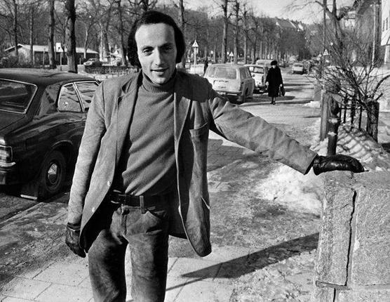 Erich Segal in 1971, shortly after the release of the film 'Love Story'. The book was critically panned but sold millions