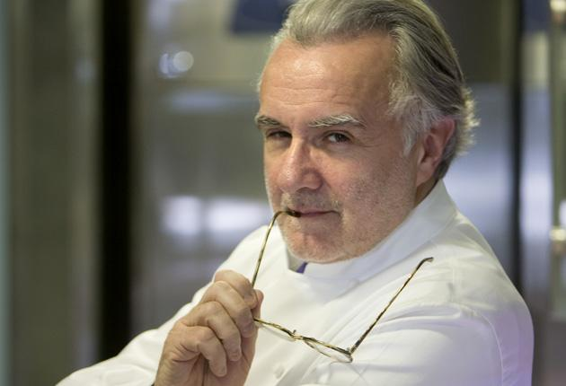 Alain Ducasse says mothers are no longer passing on their skill with a frying pan to their daughters