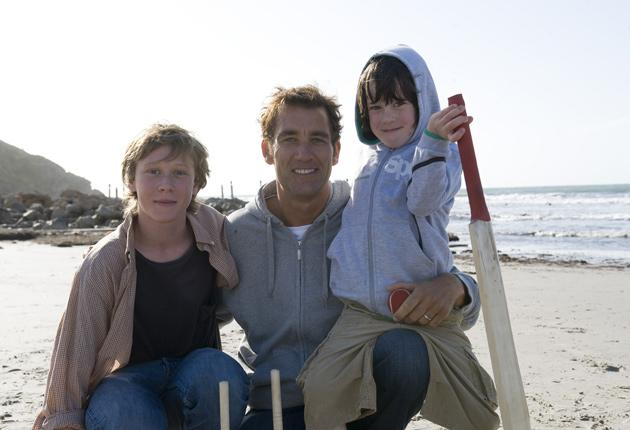 Clive Owen stars with George MacKay and Nicholas McAnulty