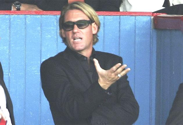 Crystal Palace owner Simon Jordan was unable to attract investors