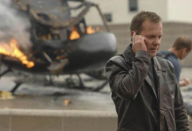 What do you mean it was a scam? Kiefer Sutherland as Jack Bauer