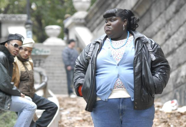 Gabourey Sidibe, as Precious, carries the film and gives it dignity, which is ultimately what it is about