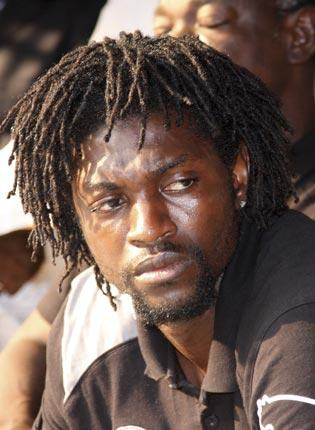 The head of the Confederation of African Football should resign, says Emmanuel Adebayor