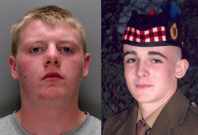 James Moore (left) was one of 10 young men who set upon Joseph Lappin