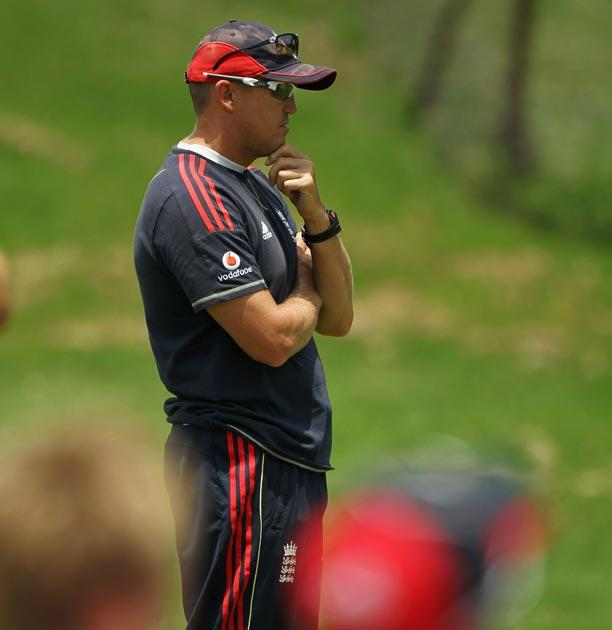Hugh Morris, the managing director of England cricket, will meet team coach Andy Flower (pictured) to discuss how best to move forward