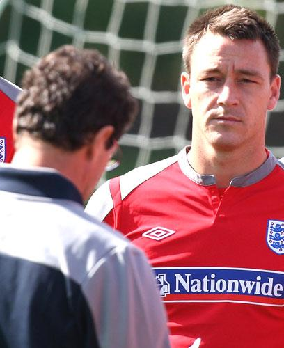 John Terry is considering saving Fabio Capello from having to decide the captain's future by resigning