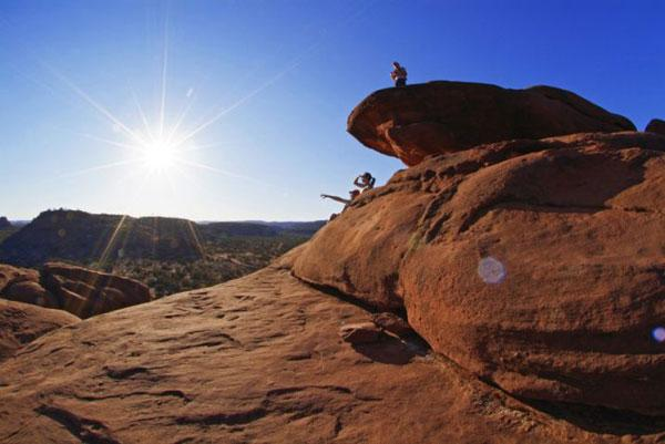 Rock star: Alice Springs is a favourite with tourists