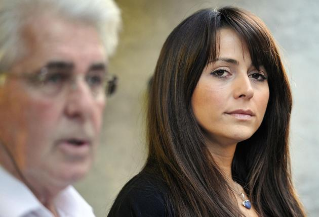 Max Clifford reads a statement on behalf of Vanessa Perroncel in which she said she would not sell her story and was sad at John Terry's loss of his captaincy