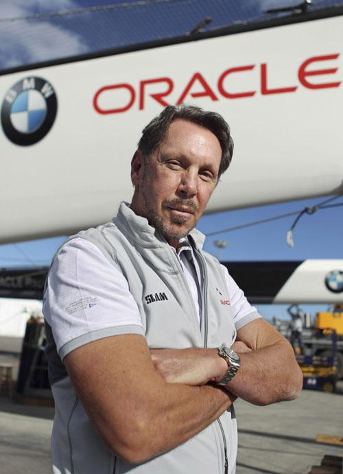 'How can the winner hijack the Cup and hold it hostage to a biased set of rules?' asks Larry Ellison of Ernesto Bertarelli