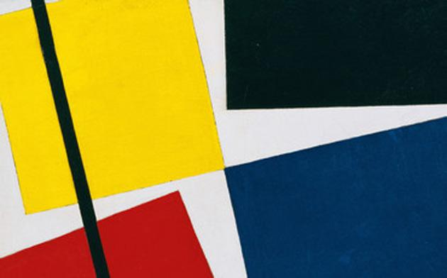 Thep van Doesburg's Simultaneous Counter-Composition