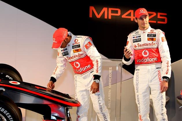 <b>McLaren</b><br/> World champion Jenson Button joins Lewis Hamilton for the new season to create the 'British dream team'. How the two rub along is expected to be one of the stories of the year.