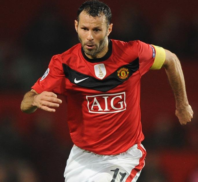 Giggs may miss the Champions League tie with AC Milan