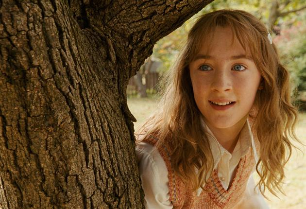 Spirited away: Saoirse Ronan plays the ghost of a murdered girl in The Lovely Bones