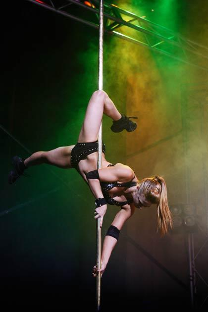Pole dancing could appear at the 2016 Olympics if the petition is successful