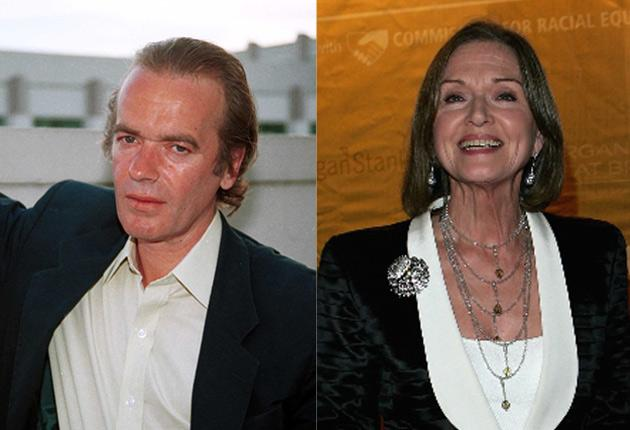 A public war of words has broken out between novelist Martin Amis and former newsreader Anna Ford.