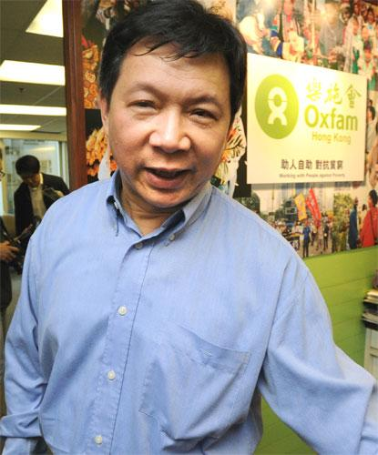 Oxfam Hong Kong director Howard Liu said it had never done anything to challenge Beijing's laws