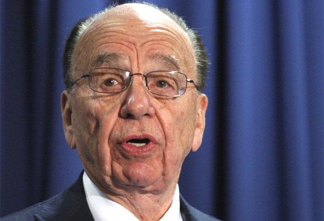 News International CEO Rupert Murdoch