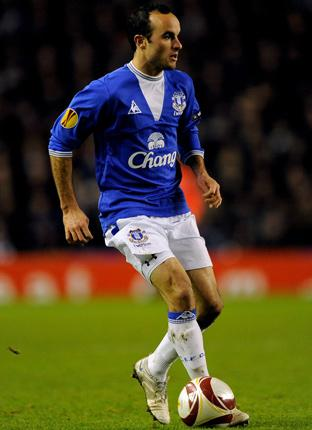 Landon Donovan has been a success at Everton but will return to Los Angeles next month