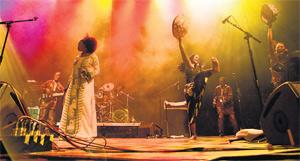 From the soul: Sangare and her band at the Dome, Brighton