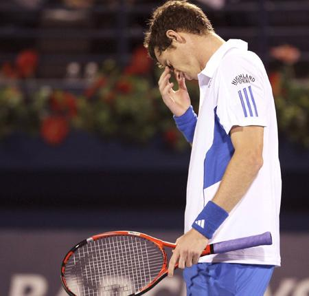 Title sponsors at the Barclays Dubai Championships were  disappointed with Andy Murray's comments