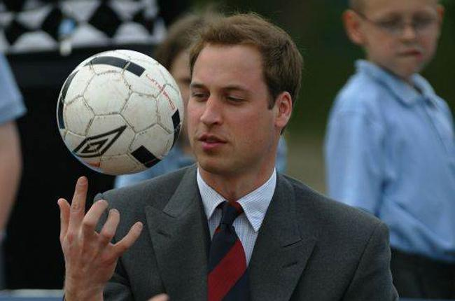 Prince William, a Villa fan, will be watching Sunday's Carling Cup final between Manchester United and Aston Villa