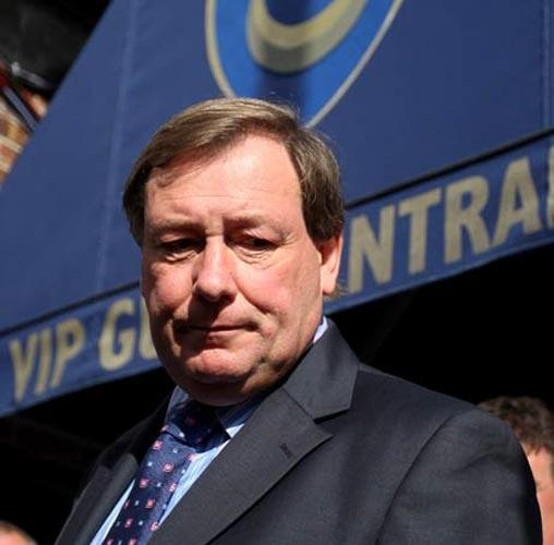 Portsmouth chief executive Peter Storrie had been trying to push through a takeover deal