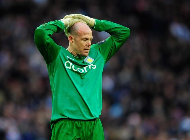 <b>ASTON VILLA</b><br/> <b>Brad Friedel</b> The sharp flight of Rooney's header deceived him but made several good saves. 7/10