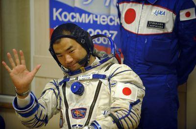 Japan Aerospace Exploration Agency astronaut Soichi Noguchi