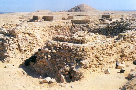 The Pyramid of Behenu at Saqqara