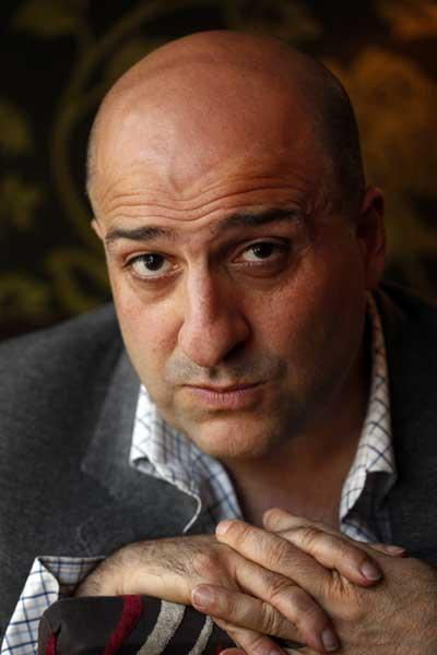 Funny business: despite parts in many major films, Omid Djalili still finds performing stand-up comedy the most enjoyable