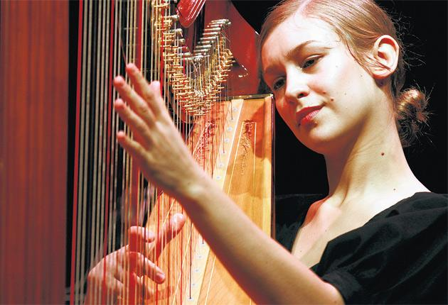 Third time plucky: after two albums that consolidated her position as a cult sensation, Joanna Newsom ventures into fresher terrain still on her latest release