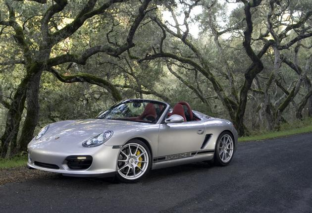 The new Spyder is taut and toned, like no Boxster before