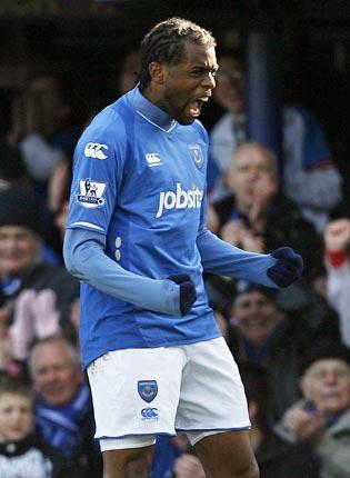 Frédéric Piquionne is trying to rebuild his career at Portsmouth