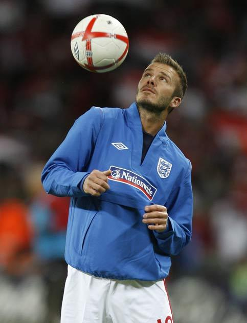 On the England front, Beckham continues to be a regular member of the squad and is widely expected to appear at his fourth World Cup this summer.