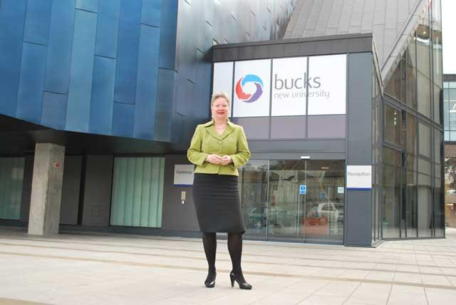 New broom: Bucks New University's vice-chancellor Ruth Farwell has made big changes