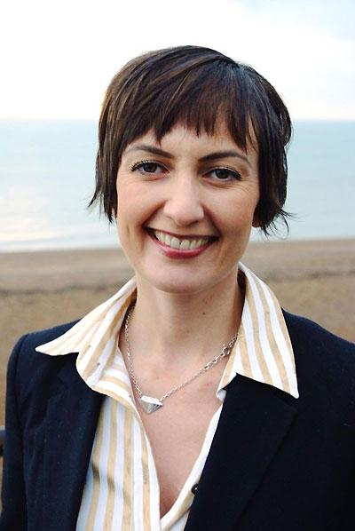 A photograph issued by Easy on the Eye Productions of Anna Arrowsmith,38, from Groombridge, near Tunbridge Wells, who has has been appointed as a parliamentary hopeful for the Liberal Democrats