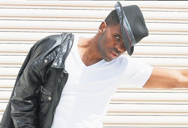 If the cap fits: Jason Derulo, and performing in Los Angeles