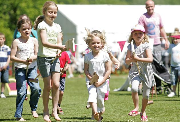 Run for it: There are plenty of English Heritage events planned for this Easter