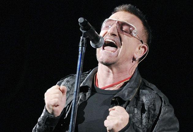 Will U2 start to travel by train on their world tours?