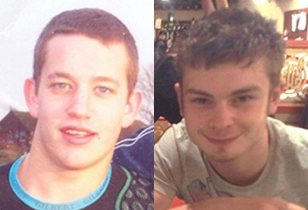 Louis Wainwright, 18, (left) and Nicholas Smith, 19, died on Monday after taking the drug.