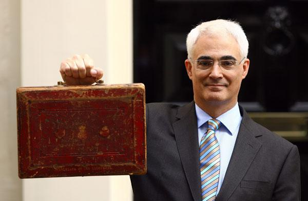 Alistair Darling may include some surprises in this year's Budget