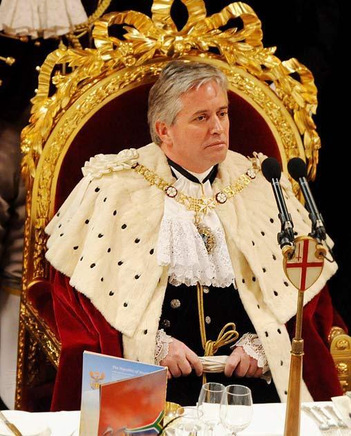 Lord Mayor Nick Anstee