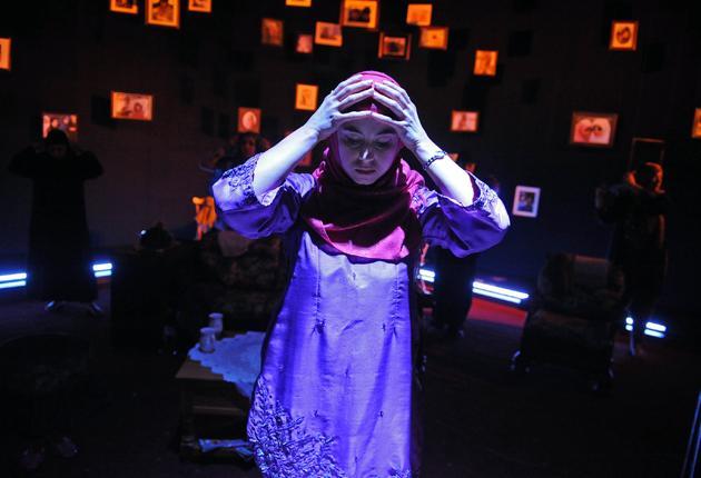 Strained relations: Zahra Ahmadi in Stephanie Street's 'Sisters'