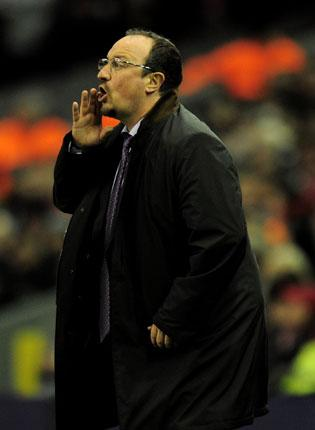 Rafa Benitez knows that the end of a meandering road is paved with gold