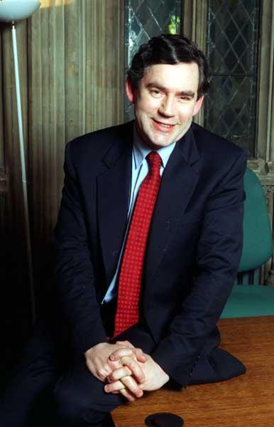 A fresh-faced Gordon Brown in 1997