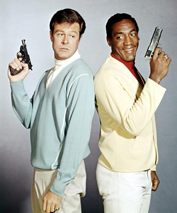 'It's a kind of Clark Gable-Spencer Tracy relationship,' said Culp, left, of his partnership with Bill Cosby in 'I Spy'