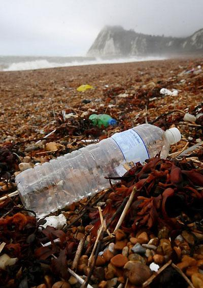 The Marine Conservation Society says plastic waste is overwhelming UK beaches and harming wildlife