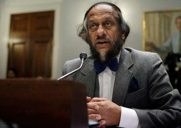Nobel laureate Rajendra Kumar Pachauri, chairman of the United Nation's Intergovernmental Panel on Climate Change